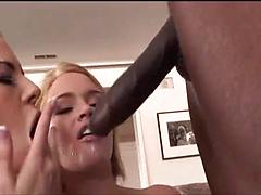 Big Black Cock For Two