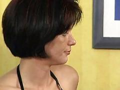 Pretty Housewife Masturbates For Camera Then Gets Fucked
