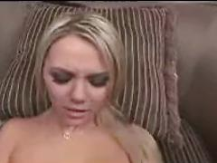Super Hot Busty Blonde Getting Fucked in POV