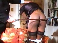 Cute African Chicks Get Punished With A Spanking