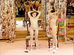 Ann Liv Young - These Two Naked Girls Love Performing For A Crowd
