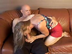 This Mature Couple Gets Kinky As Old Man Goes After Milf