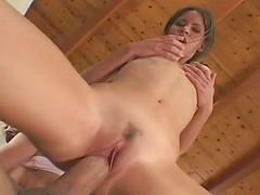 Hot Ass Orgy With Two Chicks And One Guy Ending In Facials