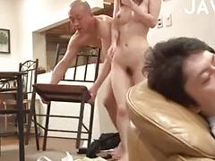 Lucky Guy Fucking A Beautiful Asian Teen