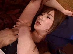 Hot Asian Kisses Her Dates Chest On The First Date