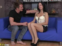 Enormous jizz shot on the fanny for super-fucking-hot huge-titted amateur female