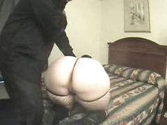 Black master owns a white BBW roughly, she loves to submit